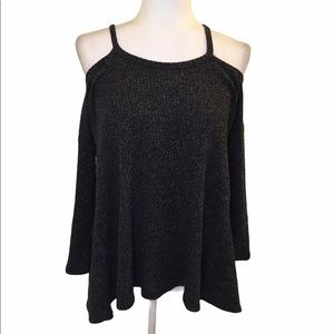 3 for $15 Pomelo cold shoulder sweater